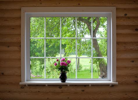Flowers On Window Sill Peony Flowers On Window Sill Stock Images Image 32808804