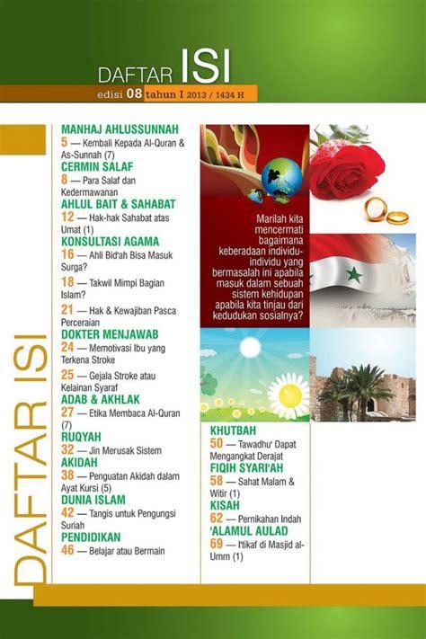 contoh layout daftar isi majalah daftar isi majalah pedidikan hairstylegalleries com