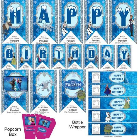 printable frozen scrapbook paper 273 best images about kids party ideas on pinterest