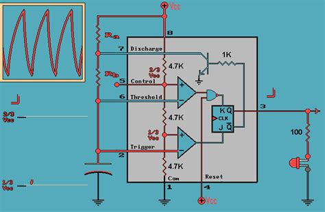 capacitor animated gif 555 timer ic as a stable multivibrator d e notes