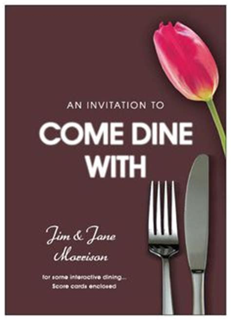come dine with me menu template 1000 images about dinner ideas on