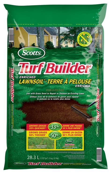 scotts scotts lawn soil 30l the home depot canada