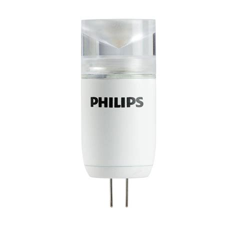 Philips Landscape Light Bulbs Philips 10w Equivalent Cool White 4000k T3 Capsule Landscape Led Light Bulb 407980 The Home