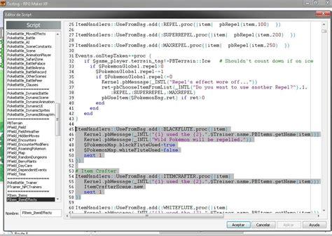 discord kernel error essentials script item crafter scene the pok 233 community