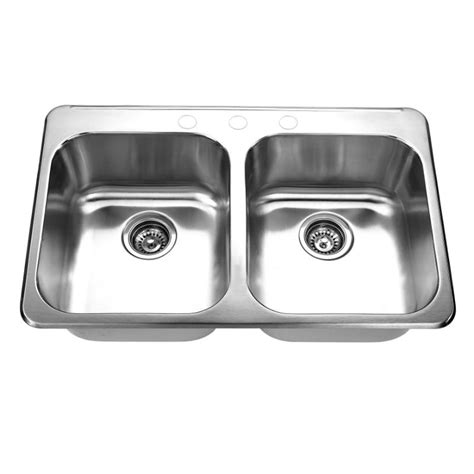 double bowl kitchen sink double bowl kitchen sink 3120c topmount double bowl