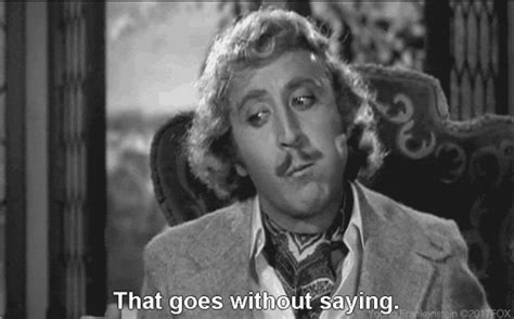 gene wilder everything gene wilder goes without saying gif by 20th century fox