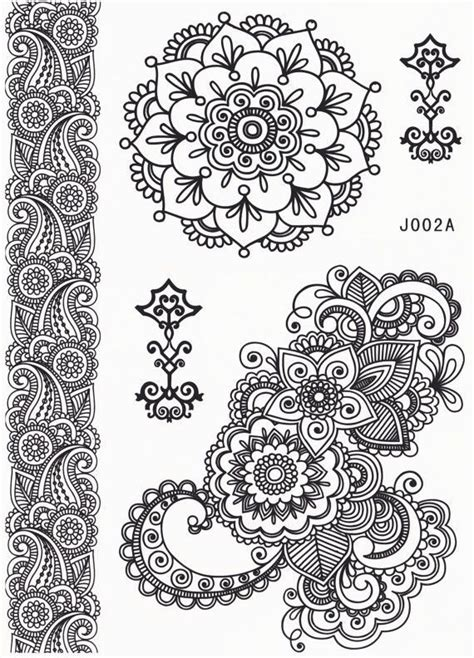 tato henna di bandung mandala tattoo temporary tattoo mandala lotus tattoo