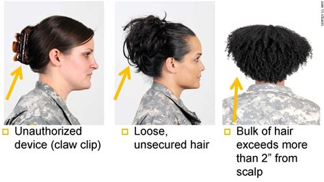 navy female hair regulations about bangs army s ban on dreadlocks other styles offends some