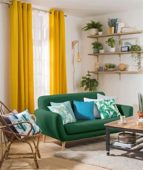 Maison Colorée Rideaux by D 233 Co Salon D 233 Co Naturelle Et Color 233 E Pour Ce Salon L