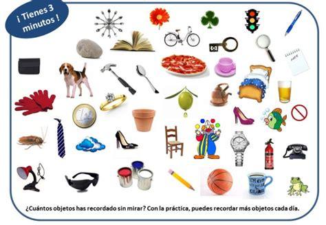 imagenes memoria visual ejercicios para trabajar la memoria orientacion andujar