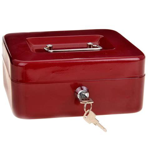 cassetta sicurezza cassetta sicurezza porta contanti 20x16x9 cm metallo