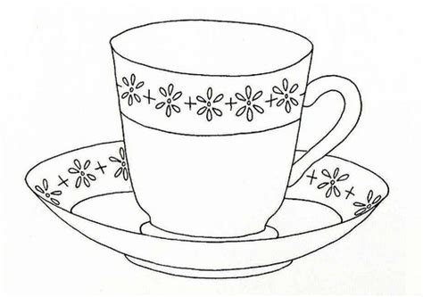 mug clipart coloring pencil and in color mug clipart