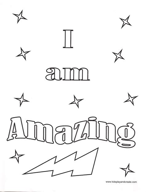 i am my affirmations a coloring book to empower all the world books i am amazing coloring page