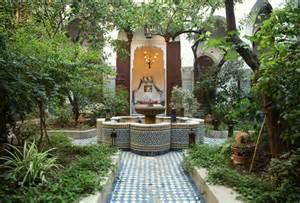 estilo jardin arabe