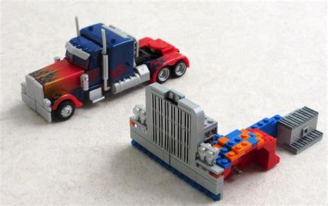 Transformer Optimus Prime Lego optimus prime transformer lego 06 9to5toys