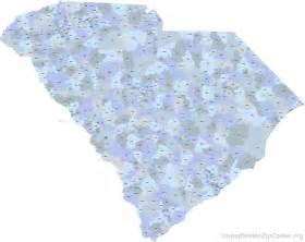 zip code map of carolina where you live matters the impact of place of residence