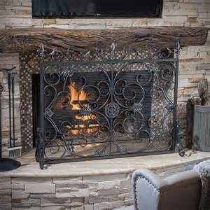 western fireplace screens best selling home decor wilmington fireplace screen lowe