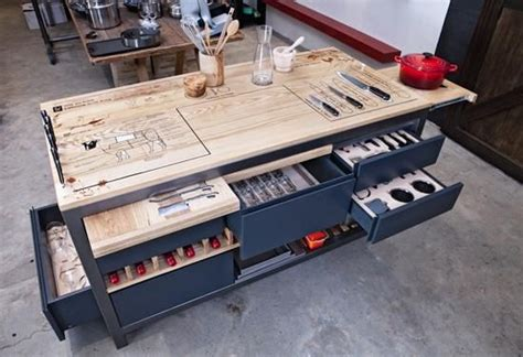 table mise the ultimate chef s work table from a culinary