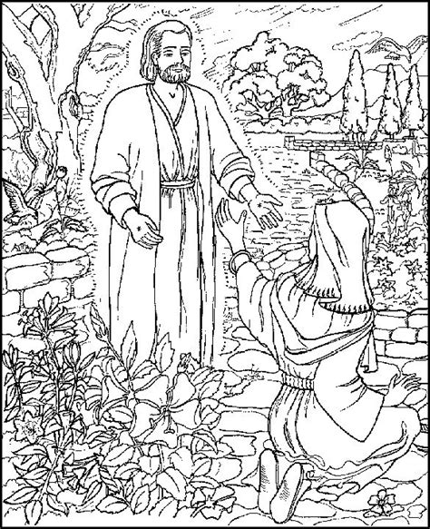 mary magdalene abda acts coloring page bible coloring