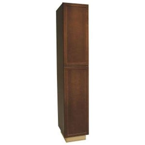 home depot kitchen pantry cabinet hton bay shaker assembled 18x96x24 in pantry kitchen