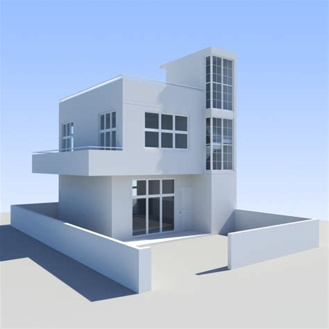 mcmansion house 3d max 3d max house towns