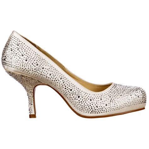 Kitten Heel Wedding Shoes by Onlineshoe Low Kitten Heel Bridal Wedding Shoes Classic