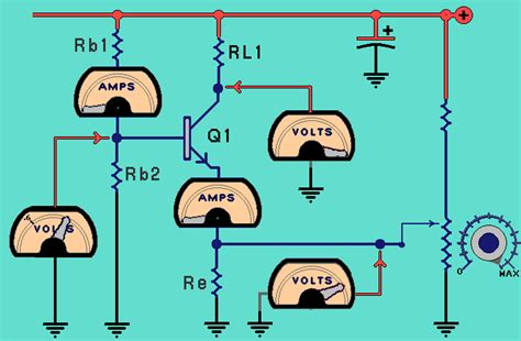 transistor lifier working animation transistors