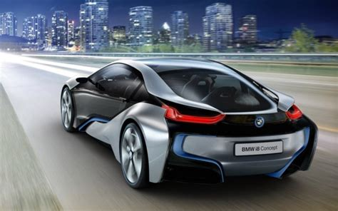 bmw i8 concept 78 mpg and 0 60 mph in 5 seconds