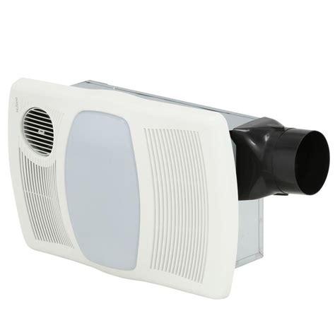 nutone  cfm ceiling exhaust bath fan  light  heater hl  home depot