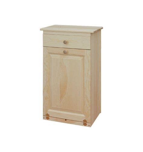 19 inch trash bin drawer simply woods furniture