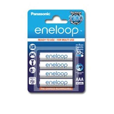 panasonic eneloop aaa hr03 750 mah rechargeable batteries ni mh 4 pc s varle lt