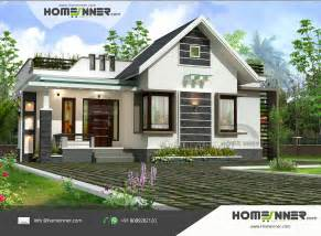 2 Bhk Home Design by Modern Contemporary 1030 Sqft 2 Bhk Small Kerala Home Design