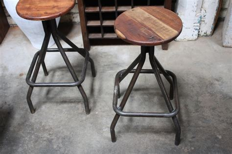 Industrial Stools Melbourne by Industrial Timber Bar Stool From Mulbury Gallery