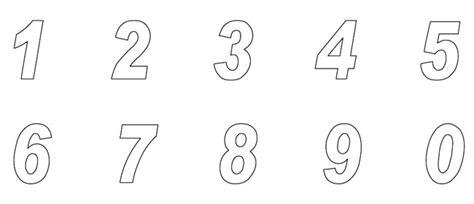 plantillas de numeros para imprimir plantilla de numeros para imprimir imagui