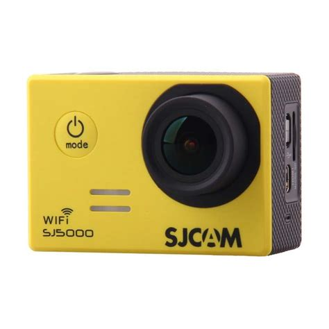 Dan Spesifikasi Sjcam 5000 Wifi 6 kamera alternatif selain gopro terbaik harga murah