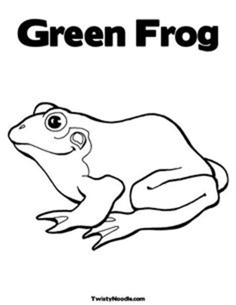preschool coloring pages color green frogs on pinterest tree frogs frogs and animal coloring