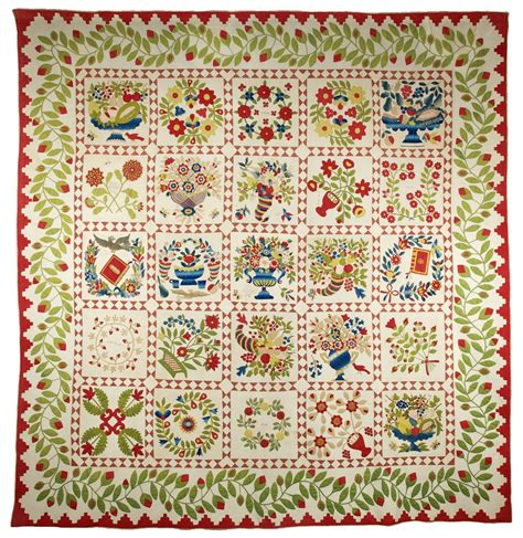 Baltimore Album Quilt by Baltimore Album Quilts Were Made For Or By Someone