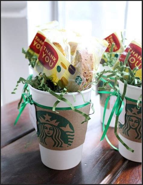 Gift Card Gift Ideas - starbucks coffee teacher gift ideas