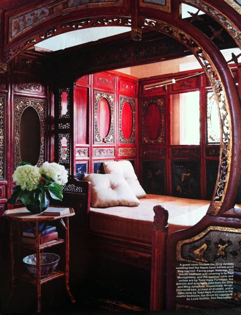qing dynasty wedding bed home interior inspiration