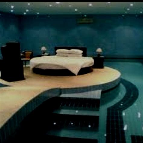 coolest bedroom coolest bedroom surrounded with a swimming pool