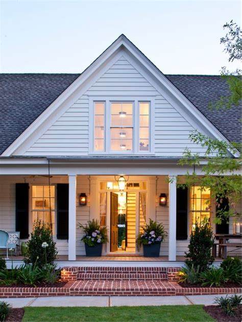 white home dream home house steps suburbs shutters front save email