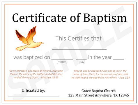 design baptism certificate baptism certificate design choice 3 red dove