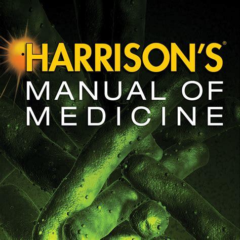 Harrisons Manual Of Medicine 19e 2016 Kasper Et Al 1 harrisons principles of medicine 18e 2 vol set chmod simpbanktilha
