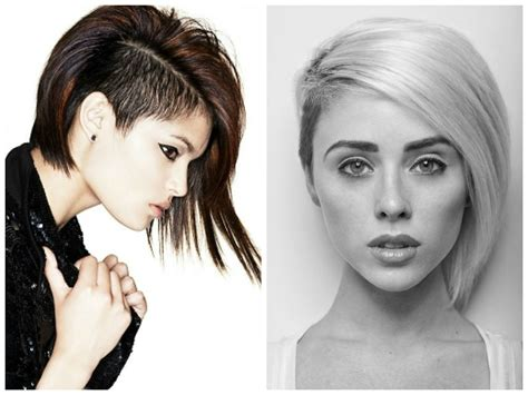 Side Shaved Bob | hairstyle ideas with shaved sides hair world magazine