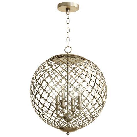 silver light pendant silver pendant light