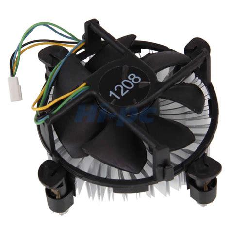 intel 775 cpu fan new 4pin cpu heatsink cooler fan for intel pentium core 2
