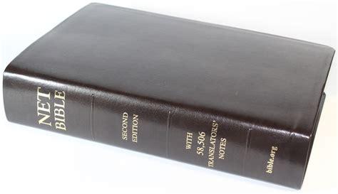 notes net bible second edition bonded leather brown books bible org notes second edition bonded leather
