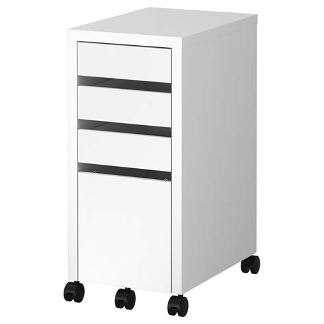desk with file storage narrow desk with drawers artenzo