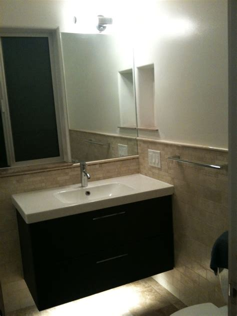 ikea vanity bathroom ikea godmorgon floating vanity bathroom pinterest