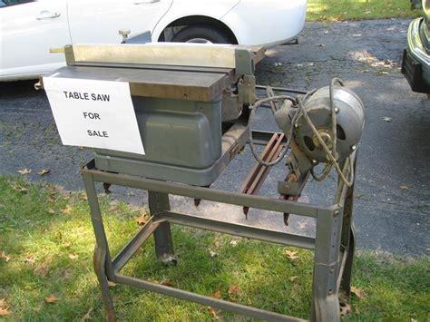 Vintage Sears Craftsman Table Saw Pdf Plan Download Free